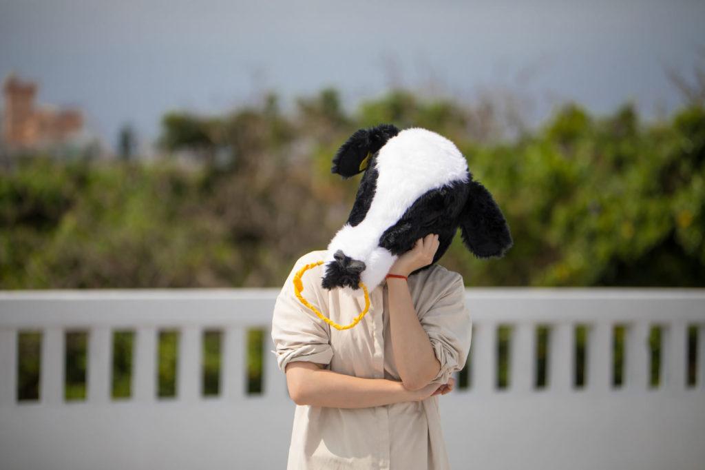 トラウマに苦しむ牛さん